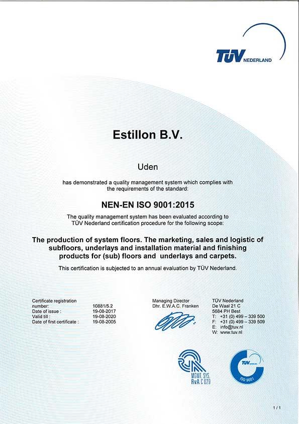 Certificate-NEN-ES-ISO-9001-2015