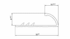 R1806-07-13-14-15-16-17-Zware-alu-tapijtafsluitrand-9-mm