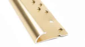 Alu abschlussprofil 9 mm, Gold glänzend