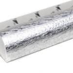 R1914(S)-Zware-alu-tapijtafsluitrand-12-mm-glanzend-zilver-hamerslag