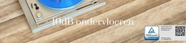 10dB gecertificeerde ondervloeren