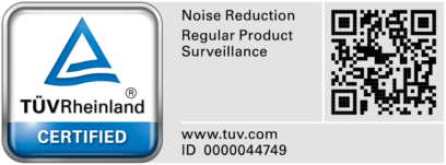 TUV 10dB certifcaat TUV Floorfixx regular