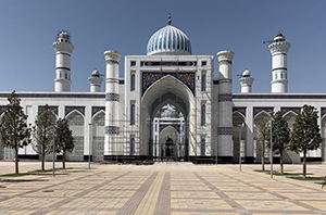 Grand Mosque Tajikistan