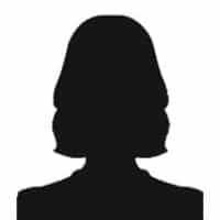 Silhouet-vrouw