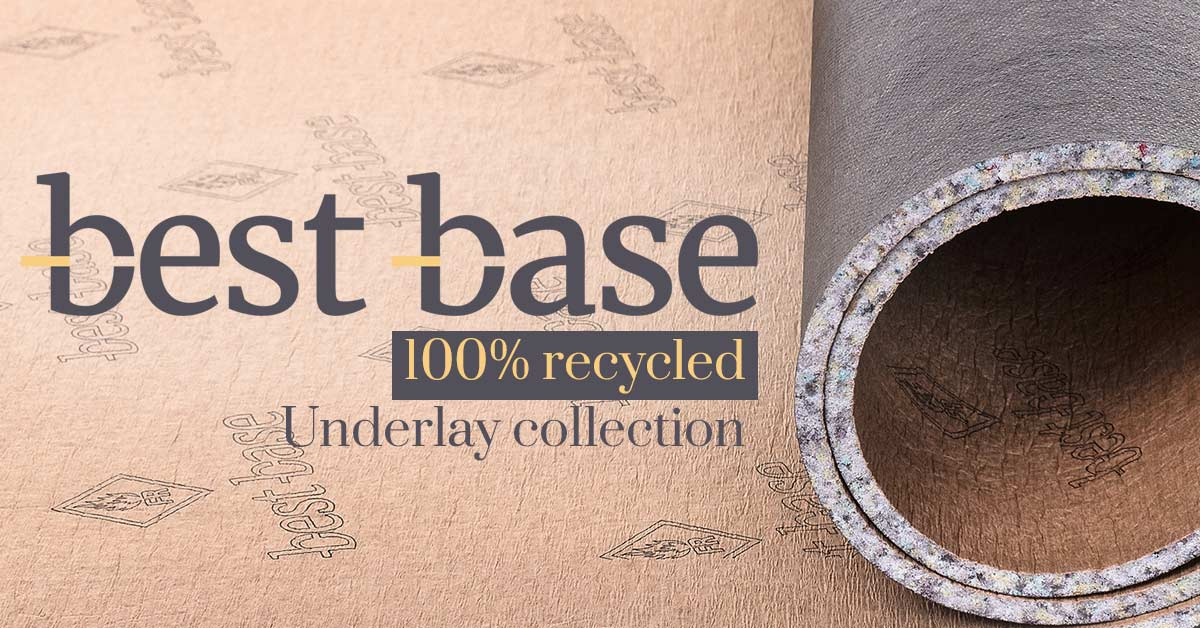 Best Base 100% recycled underlays